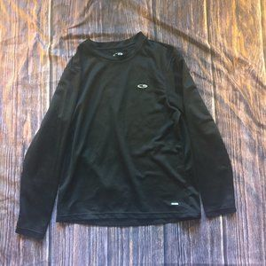 Champion Duo Dry Medium Black Long-Sleeve